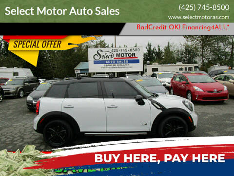 2015 MINI Countryman for sale at Select Motor Auto Sales in Lynnwood WA