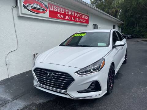 2018 Hyundai Sonata for sale at Used Car Factory Sales & Service in Port Charlotte FL
