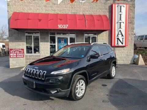 2016 Jeep Cherokee for sale at Titan Auto Sales LLC in Albany NY