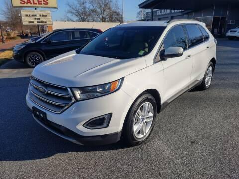 2015 Ford Edge for sale at DON BAILEY AUTO SALES in Phenix City AL