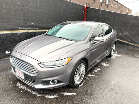 2013 Ford Fusion for sale at McManus Motors in Wheat Ridge CO