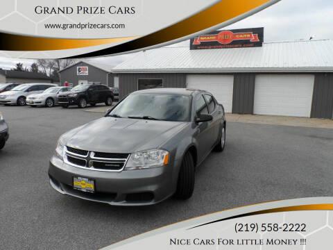 2012 Dodge Avenger for sale at Grand Prize Cars in Cedar Lake IN
