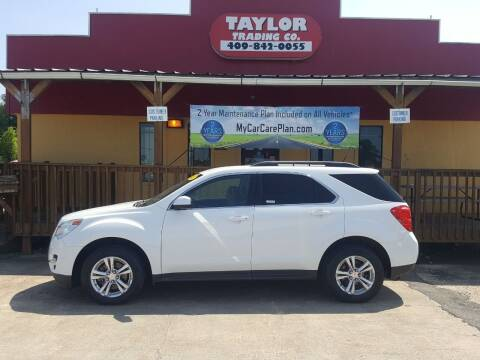 2012 Chevrolet Equinox for sale at Taylor Trading Co in Beaumont TX