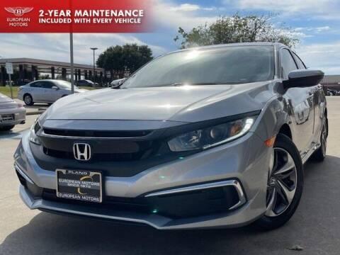 2019 Honda Civic for sale at European Motors Inc in Plano TX