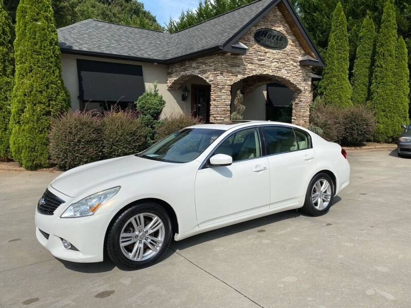 2013 Infiniti G37 Sedan for sale at Hoyle Auto Sales in Taylorsville NC