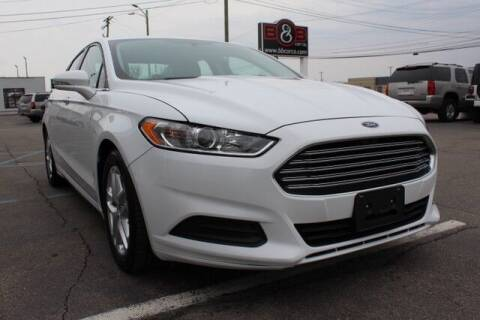 2016 Ford Fusion for sale at B & B Car Co Inc. in Clinton Twp MI