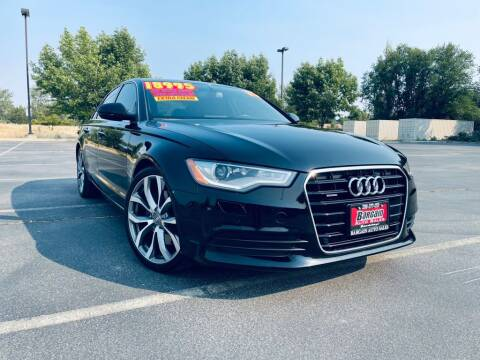 2015 Audi A6 for sale at Bargain Auto Sales LLC in Garden City ID