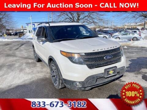 2013 Ford Explorer for sale at Glenbrook Dodge Chrysler Jeep Ram and Fiat in Fort Wayne IN