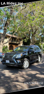 2019 Lexus GX 460 for sale at LA Ridez Inc in North Hollywood CA
