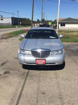 2001 Lincoln Town Car for sale at Stewart's Motor Sales in Byesville OH