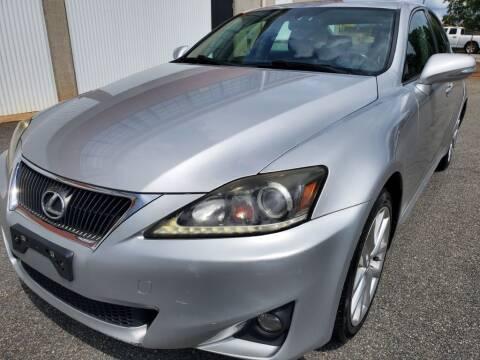 2011 Lexus IS 250 for sale at Atlanta's Best Auto Brokers in Marietta GA