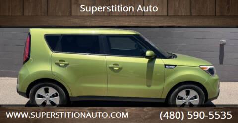 2016 Kia Soul for sale at Superstition Auto in Mesa AZ