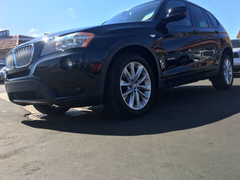 2013 BMW X3 for sale at CARSTER in Huntington Beach CA