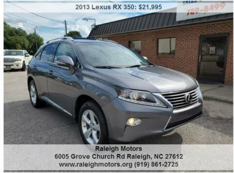 2013 Lexus RX 350 for sale at Raleigh Motors in Raleigh NC