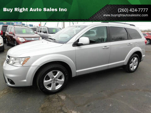 2012 Dodge Journey for sale at Buy Right Auto Sales Inc in Fort Wayne IN