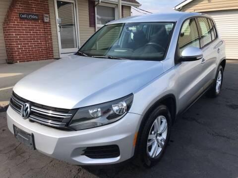 2013 Volkswagen Tiguan for sale at Cooks Motors in Westampton NJ