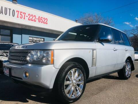 2008 Land Rover Range Rover for sale at Trimax Auto Group in Norfolk VA