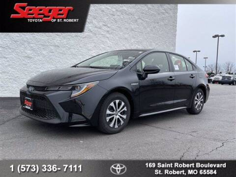 2021 Toyota Corolla Hybrid for sale at SEEGER TOYOTA OF ST ROBERT in St Robert MO
