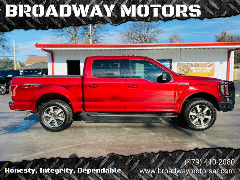 2015 Ford F-150 for sale at BROADWAY MOTORS in Van Buren AR