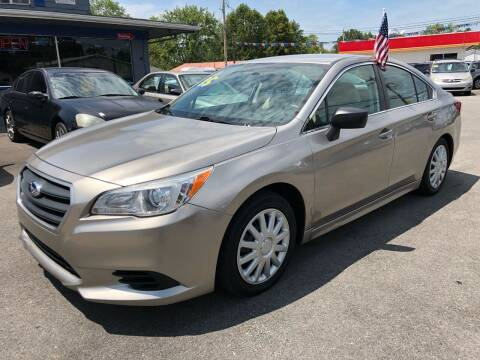 2015 Subaru Legacy for sale at Wise Investments Auto Sales in Sellersburg IN
