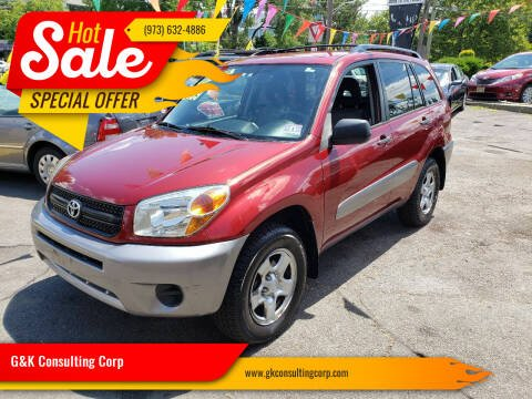 2005 Toyota RAV4 for sale at G&K Consulting Corp in Fair Lawn NJ