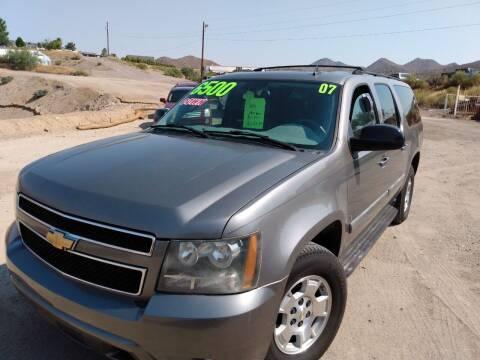 2007 Chevrolet Suburban for sale at Hilltop Motors in Globe AZ