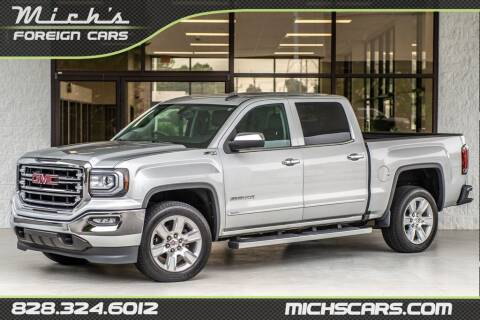 2016 GMC Sierra 1500 for sale at Mich's Foreign Cars in Hickory NC