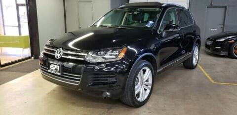 2013 Volkswagen Touareg for sale at EA Motorgroup in Austin TX