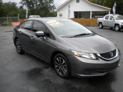 2015 Honda Civic for sale at Houser & Son Auto Sales in Blountville TN