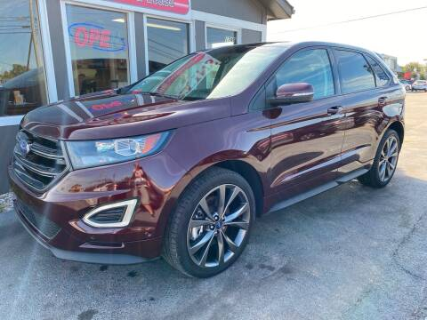 2018 Ford Edge for sale at Martins Auto Sales in Shelbyville KY