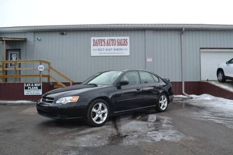 2007 Subaru Legacy for sale at Dave's Auto Sales in Winthrop MN