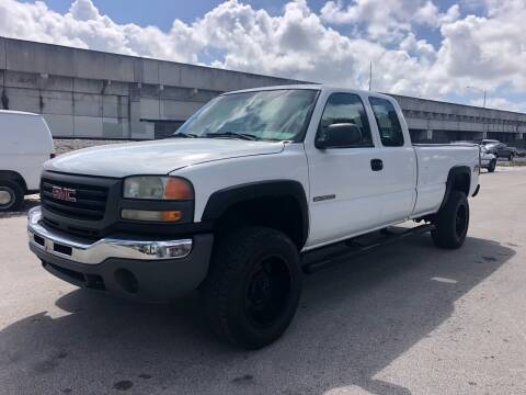 2005 GMC Sierra 3500 for sale at Florida Cool Cars in Fort Lauderdale FL