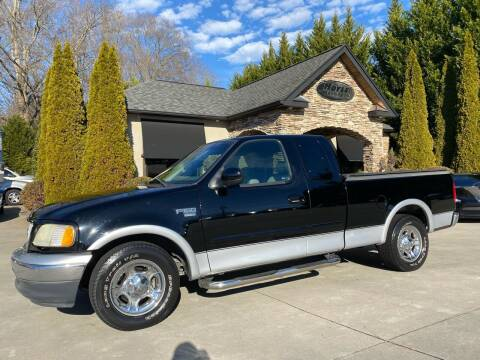 2003 Ford F-150 for sale at Hoyle Auto Sales in Taylorsville NC