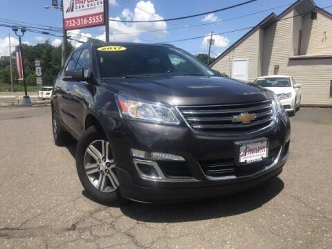 2017 Chevrolet Traverse for sale at PAYLESS CAR SALES of South Amboy in South Amboy NJ