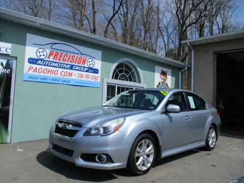 2013 Subaru Legacy for sale at Precision Automotive Group in Youngstown OH