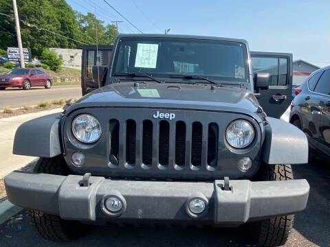 2017 Jeep Wrangler Unlimited for sale at Morristown Auto Sales in Morristown TN
