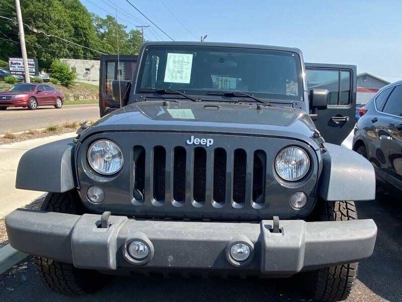 2017 Jeep Wrangler Unlimited for sale in Morristown, TN