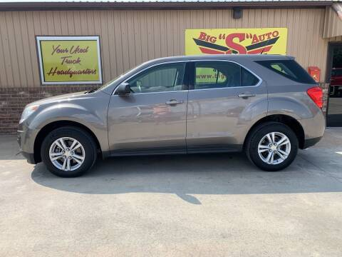 2010 Chevrolet Equinox for sale at BIG 'S' AUTO & TRACTOR SALES in Blanchard OK