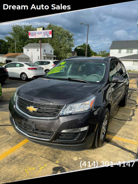 2016 Chevrolet Traverse for sale at Dream Auto Sales in South Milwaukee WI
