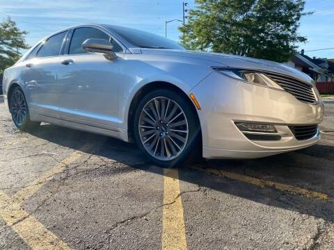 2014 Lincoln MKZ for sale at Zs Auto Sales in Kenosha WI
