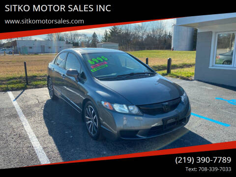 2011 Honda Civic for sale at SITKO MOTOR SALES INC in Cedar Lake IN