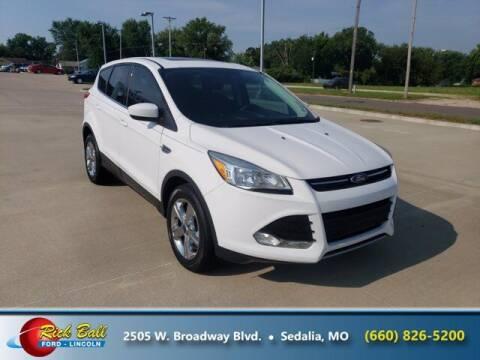 2015 Ford Escape for sale at RICK BALL FORD in Sedalia MO