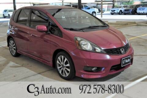 2013 Honda Fit for sale at C3Auto.com in Plano TX