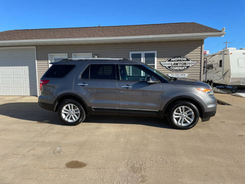 2014 Ford Explorer for sale at Lawton Motor Company in Lawton IA