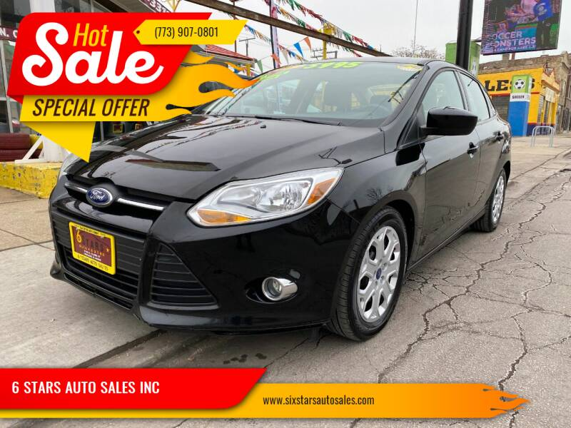 2012 Ford Focus for sale at 6 STARS AUTO SALES INC in Chicago IL
