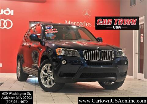 2012 BMW X3 for sale at Car Town USA in Attleboro MA