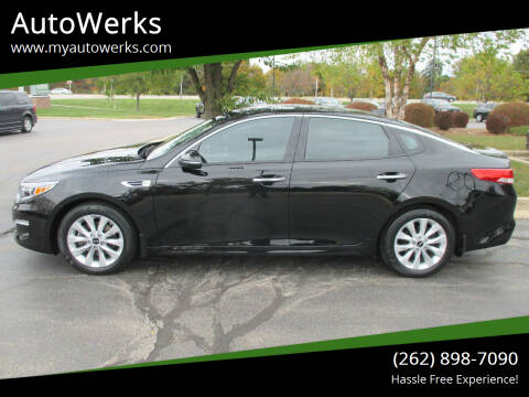 2017 Kia Optima for sale at AutoWerks in Sturtevant WI