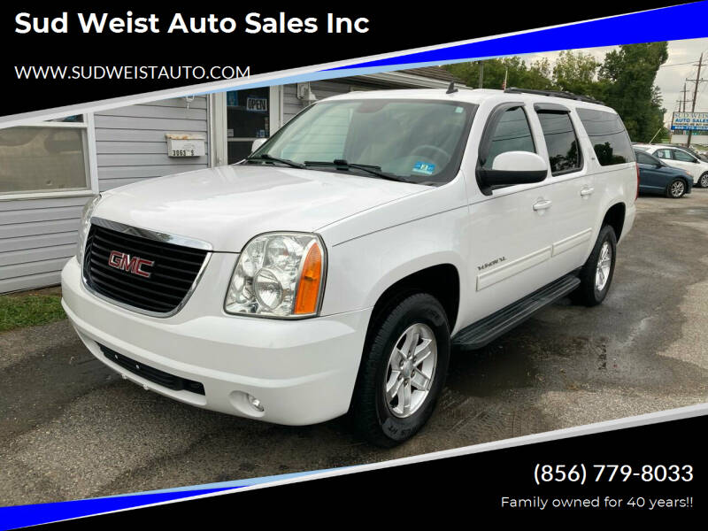 2013 GMC Yukon XL for sale at Sud Weist Auto Sales Inc in Maple Shade NJ
