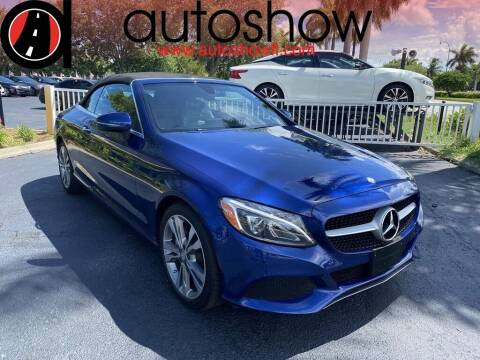 2017 Mercedes-Benz C-Class for sale at AUTOSHOW SALES & SERVICE in Plantation FL
