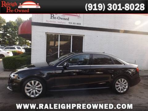 2015 Audi A4 for sale at Raleigh Pre-Owned in Raleigh NC